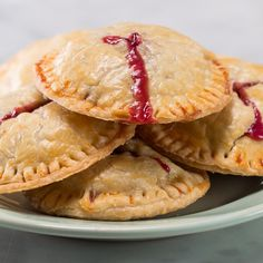 4 Ingredient Berries & Cream Hand Pies Recipe by Tasty