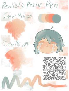 Digital Painting Tutorials, Digital Art Tutorial, Art Tutorials, Brush Drawing, Drawing Base, Drawing Techniques, Drawing Tips, Paint Pens, Paint Brushes