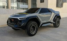 concept cars The Golem was created in collaboration with students from the Universidad Politcnica de Valencia. Offroad, Hors Route, Armored Truck, Expedition Vehicle, Futuristic Cars, Armored Vehicles, Automotive Design, Motor Car, Custom Cars