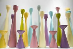 Pastel color boost original Rolf™ - Rolfstager and Inga™ candlesticks by freemover.se Design: Maria Lovisa Dahlberg