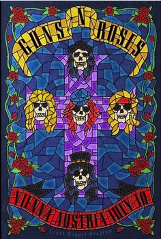 Guns n' Roses Nothing In A Lifetime Tour 2017 Vienna
