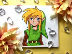 I'm redrawing Link from The Legend Of Zelda - Oracle Of Seasons! Tombow, Mechanical Pencils, Faber Castell, Brush Pen, Legend Of Zelda, Colored Pencils, Fanart, Watercolor, Seasons