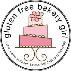About Gluten-Free Bakery Girl, a gluten-free bakery in St. Michael's, Maryland offering gluten-free and vegan bars, cookies, cakes and tarts. Gluten Free Bakery, Gluten Free Menu, Gluten Free Treats, Shortbread Cake, Vegan Bar, Best Bakery, Baking Company, Peanut Butter Oatmeal