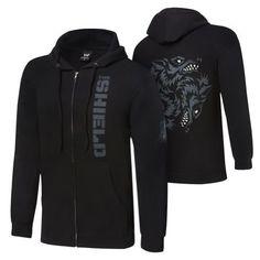 "WWE The Shield ""Hounds of Justice"" Full Zip Sweatshirt : Sweatshirts ..."