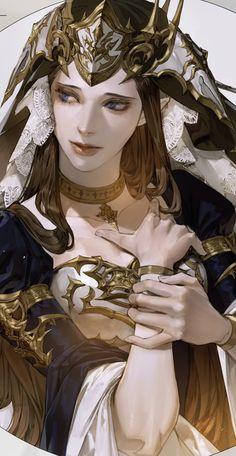 Digital Painting Tutorials, Art Tutorials, Pretty Art, Character Design Inspiration, Anime Art Girl, Portrait Art, Aesthetic Art, Art Inspo, Amazing Art