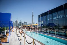 Lavelle is a rooftop pool, patio, bar and restaurant situated on top of 627 King Street West. It's meant to be an oasis for residents of the condominium underneath, but also the general residents and workers of King West. Lavelle wants to be whatever you want it to be, but...