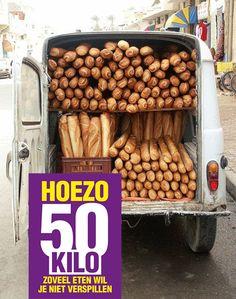 Hoe bewaar je brood het best? Foto: Onabargeinfrance.com