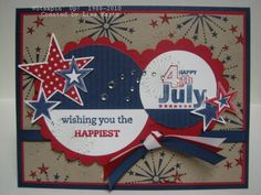 July 4th by Lisa Martz - Cards and Paper Crafts at Splitcoaststampers