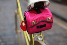 Saddle Bag Hot Pink  www.cyclodelic.com