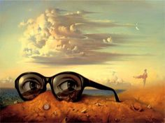 70 amazing paintings by the surrealist artist Vladimir Kush who also being called Russian Salvador Dali Vladimir Kush, Salvador Dali Gemälde, Salvador Dali Paintings, Wassily Kandinsky, Les Religions, Rene Magritte, Surrealism Painting, Painting Art, Modern Surrealism