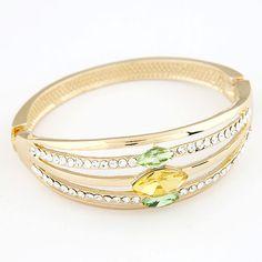 Luxury Boutique Czech Crystal Bracelet   Indulgence Designs