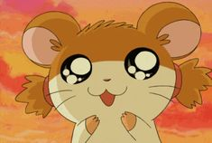 hamtaro gifs for all ! My Moon And Stars, My Astrology, Hamtaro, All Things Cute, Me As A Girlfriend, Animal Crossing, Kawaii Anime, The Dreamers, Growing Up
