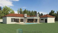 3 Bedroom House Plans South Africa | House Designs | NethouseplansNethouseplans House Plans For Sale, Free House Plans, House Plans With Photos, Garage House Plans, Luxury House Plans, Small House Plans, Three Bedroom House Plan, Bedroom House Plans, Tuscan House Plans