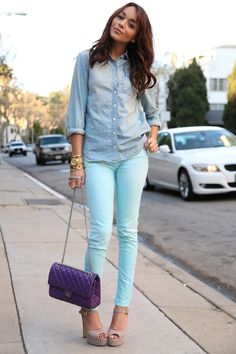 I love her style!
