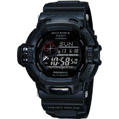 Casio G-Shock Mat in Black Riseman Multiband 6 Watch