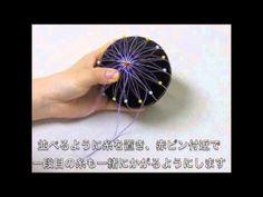 手まり TM7-2 古典菊 - YouTube
