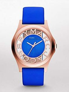 royal blue marc Jacobs watch