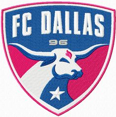 football_club_dallas_logo_embroidery_design