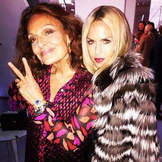 Rachel Zoe's Instagram pic proves that Diane von Furstenberg is still one of the coolest women in fashion.