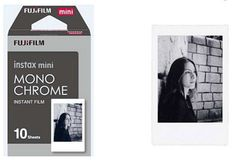 """Fujifilm just announced new instax mini Monochrome film to be released worldwide next month. What are your thoughts? I can't help but feel there would be more interest in this if it was available for instax wide. I guess we'll see how it pans out. """"The instax mini film Monochrome responds to the increasingly sophisticated demands of users enabling them to expand the artistic potential of their photographic expression and adding a further dimension of fun to using instax cameras and films.""""…"""