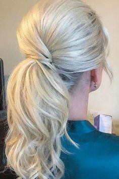 Clip in Ponytail Human Hair Extensions Blonde #60 www.g-sunny.com