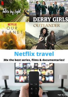 Travelling while your at home? Looking for Netflix tips? Here's a list of Netflix travel: the best series, films and documentaries! Netflix, North Europe, Best Series, City Break, Documentary Film, Outdoor Travel, Outlander, Travelling, Travel Tips