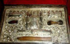 Patron Saints, Saint George, Ethiopia, Dragon, Illustration, Bones, Art, Freiburg, Art Background