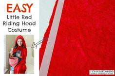 Easy Halloween Costume – No Sew Cape