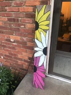 Welcome Signs Front Door, Wooden Welcome Signs, Front Porch Signs, Wood Signs, Personalized Wooden Signs, Pumpkin Door Hanger, Diy Porch, Painted Boards, Wooden Crafts