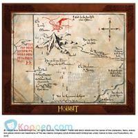 Thorin Oakenshield map - Koppen.com