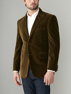 2419d39761 Amazing color for a blazer! Great with a pair of dark jeans. Corduroy Sport