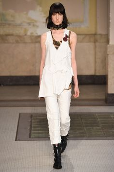 Catwalk photos and all the looks from Damir Doma Spring/Summer 2017 Menswear Milan Fashion Week Milan Fashion, Couture Fashion, Runway Fashion, Spring Fashion, Fashion Show, Womens Fashion, Fashion Design, Fashion Trends, Fashion Inspiration