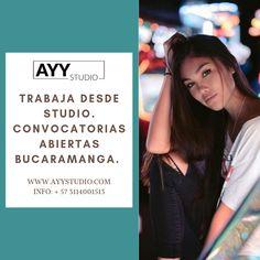 Convocatorias abiertas!  Bucaramanga - Medellín - Bogotá - Barranquilla  Info: + 57 3114001513   #modeloswebcambucaramanga #modeloswebcam #estudiowebacambucaramanga #estudiowebcam Studio, Bucaramanga, Barranquilla, Lights Camera Action, Documentaries, Studios