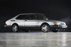 Saab 900 Turbo Icy Silver