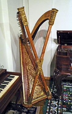 This is new to me! The Pleyel Harp. How do you play this?  dorveille.com