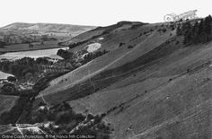 Reigate, Hills Looking West 1928, from Francis Frith