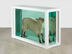 Damien Hirst - Away from the Flock, 1994