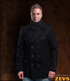 Мужские пальто милитари и casual  купить армейский