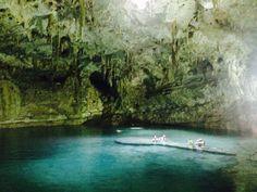 Chichen Itza, Yucatan, Mexico - Beautiful Cenote near Chichen Itzá,...