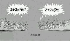 Religion summed up in one picture.