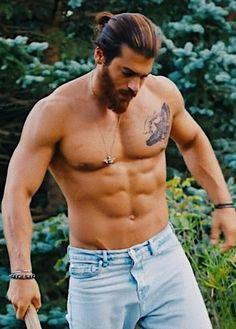 Can Turkish Men, Turkish Actors, Gym Workout Videos, Hunks Men, Hot Actors, Good Looking Men, Gorgeous Men, Cute Boys, Fitness Inspiration