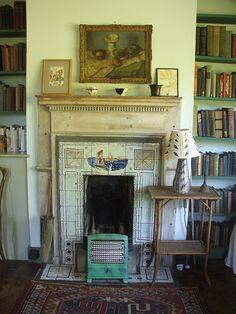 Virginia Woolf's bedroom at Monk house