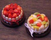 charlotte aux fraises aux fruits tutorial fimo