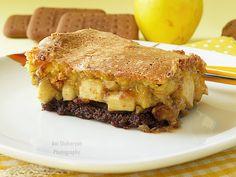 Вкуснотека: Лесен сладкиш с бисквити и ябълки