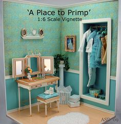 A Place to Primp ~ This is so cool!