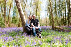 Bluebell Wood Engagement Shoot, Sussex