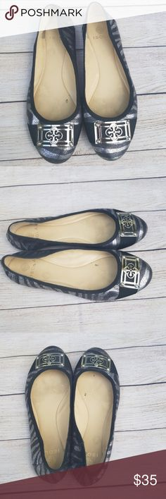 Isola flats Good pre loved condition.  Size 7. Embellished toe. Isola Shoes Flats & Loafers