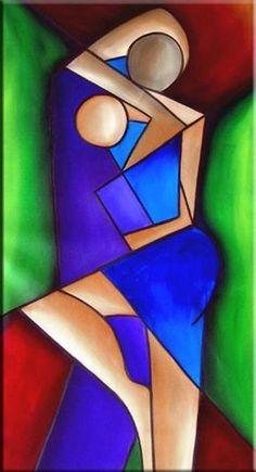 Intense Passion C 24 Karya Seni Dekorasi Lukisan Dekoratif Abstrak