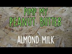 And so many people like Almond milk but why run off to the shops and buy the stuff that isn't really fantastic. Make your own in 2 easy steps. Buy our Natur. Almond Butter, Almond Milk, Make Your Own, How To Make, People Like, Shops, Natural, Check, Easy