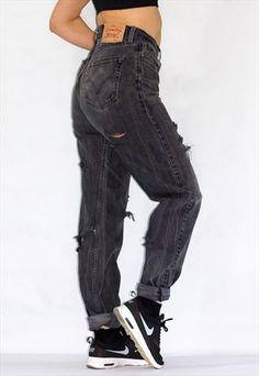 Vintage+Distressed+751++Levi's+Jeans+36/34
